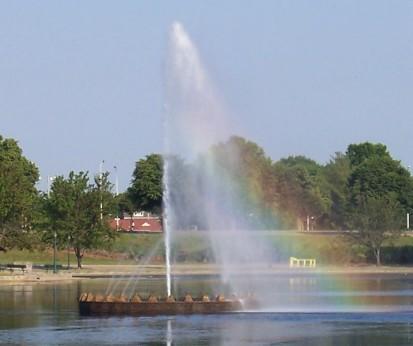 Pride Fountain.